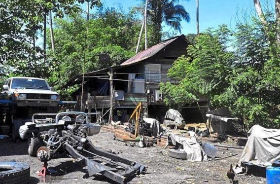 Lokasi pembunuhan kejam 4 beranak di Tapah popular