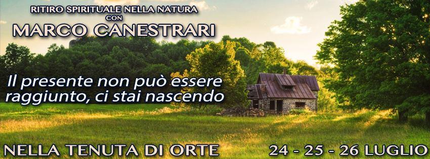 PARTECIPA AL RITIRO SPIRITUALE 24-26 LUGLIO