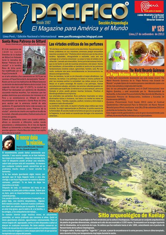 Revista Pacífico Nº 136 Arqueología