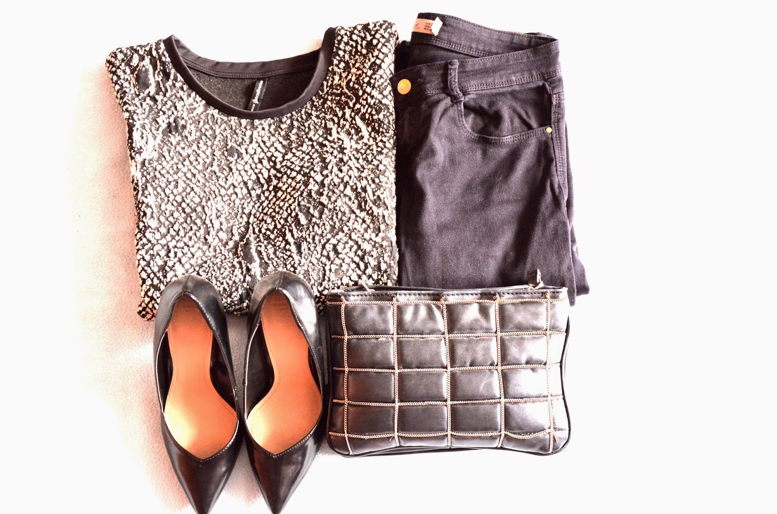 black outfit, czerń, klasyka ,szpilki, zara, lifelookangies, luźny outfit