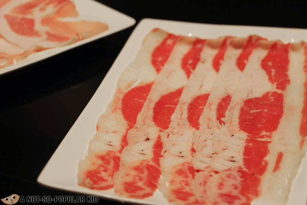 Beef strips for hotpot - Chinese cuisine