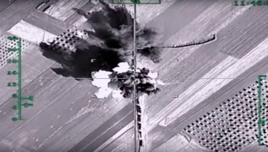 Βίντεο: Με βόμβες φωσφόρου η ρωσική Αεροπορία «καίει» τους ισλαμιστές στο βόρειο Χαλέπι