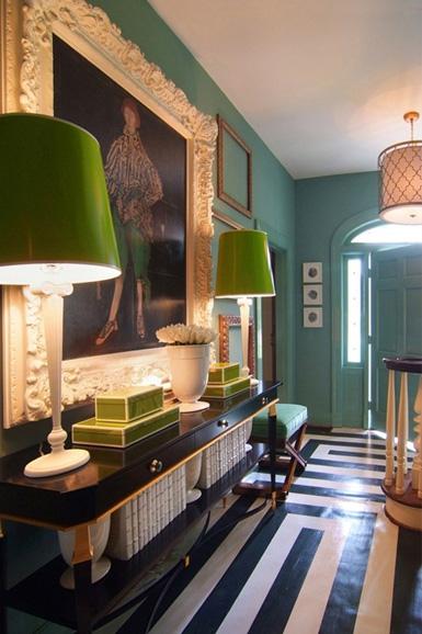 bold geometric pattern, design, graphic, interior design