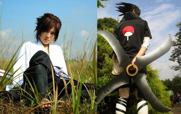 Gaya rambut sasuke