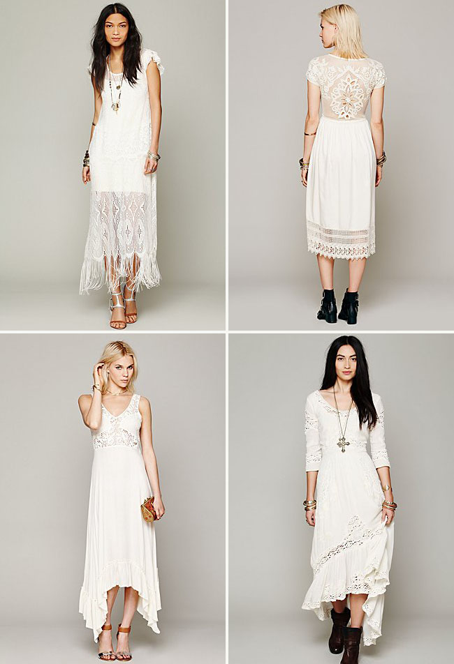 Casper's Fashion World: {My Love} Boho Wedding Dresses & Ideas