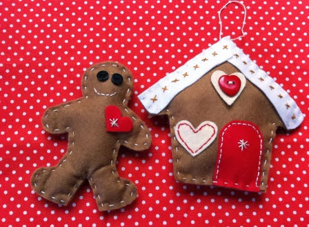 Gingerbread Boy and Cosy Cottage