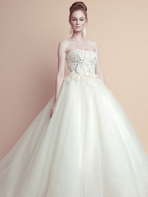 Oliver Tolentino Wedding Dress