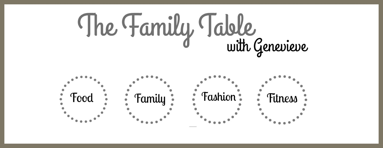 The Family Table with Genevieve