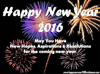 Kartu Ucapan Happy new year 2016 selamat tahun 2016
