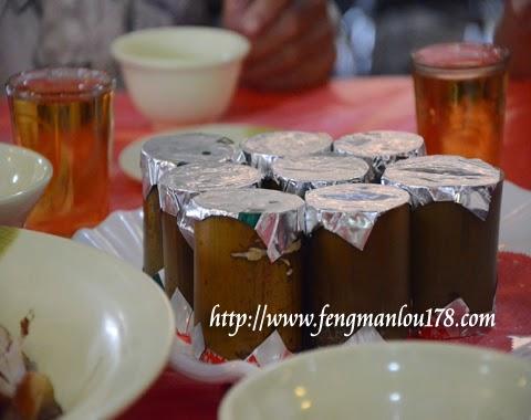 台湾原住民竹筒饭