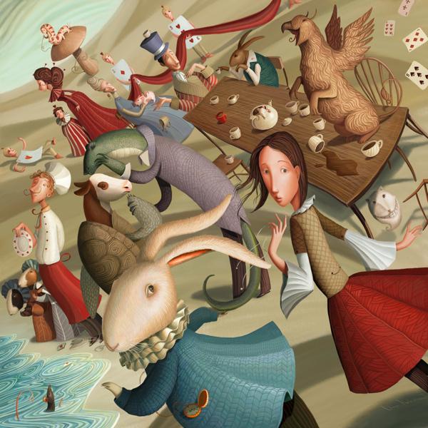 Varya Kolesnikova. Illustration   ilustración
