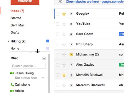 Gmail novi izgled