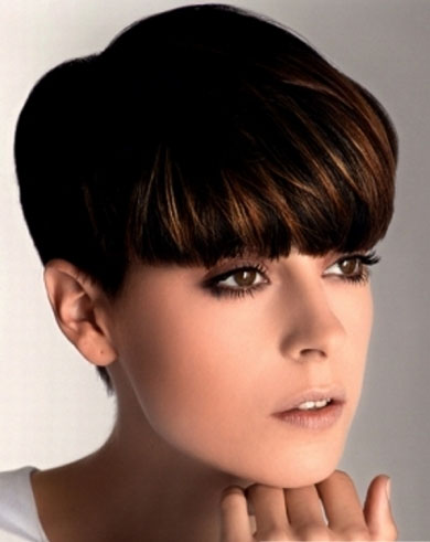 Girly Short Pixie Hair Style 2013