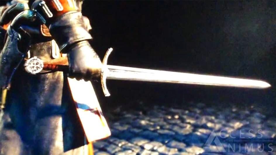 Templar Cross Assassins Creed The Templar Emblem at the edge