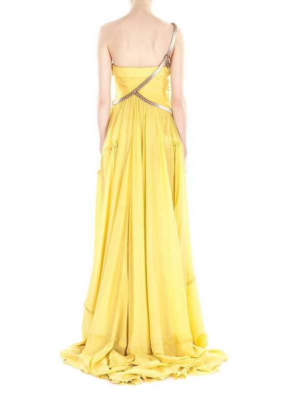 Stylish yellow maxi dresses violet fashion art for Yellow maxi dress for wedding