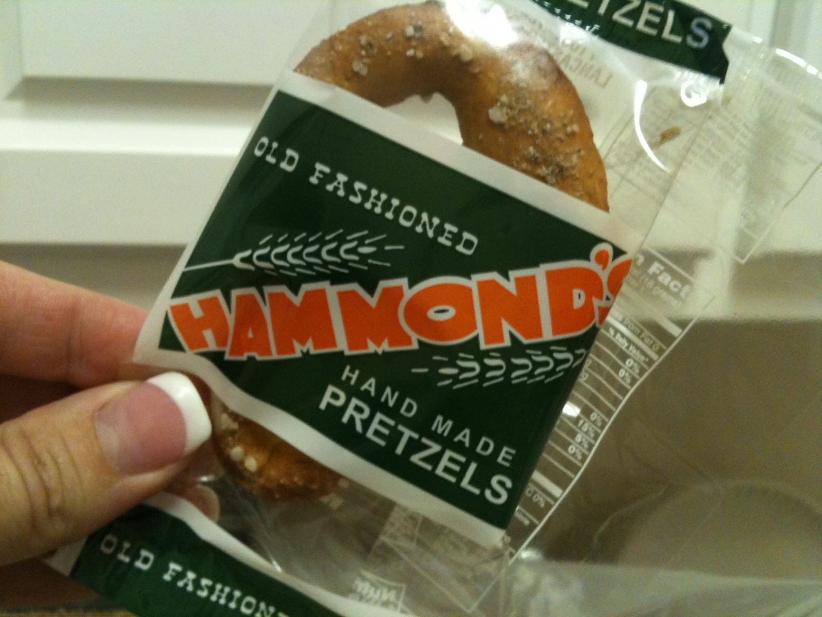 are very hard pretzels and most of them don't have too much salt  #AF3F05