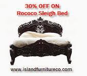 French Rococo Bed