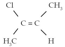 Cis–2-kloro–2-butena