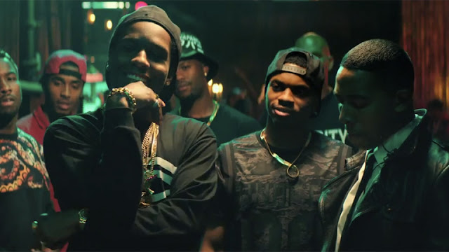 A$ap Rocky has fun with his role as a drug-dealer