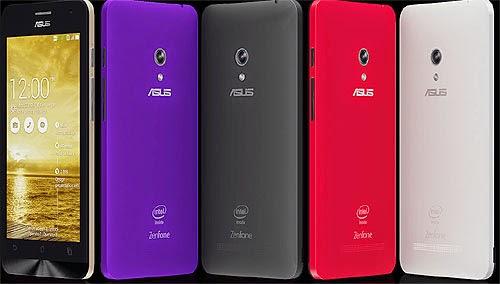 Harga Asus Zenfone 5 dan SmartPhone Intel Atom