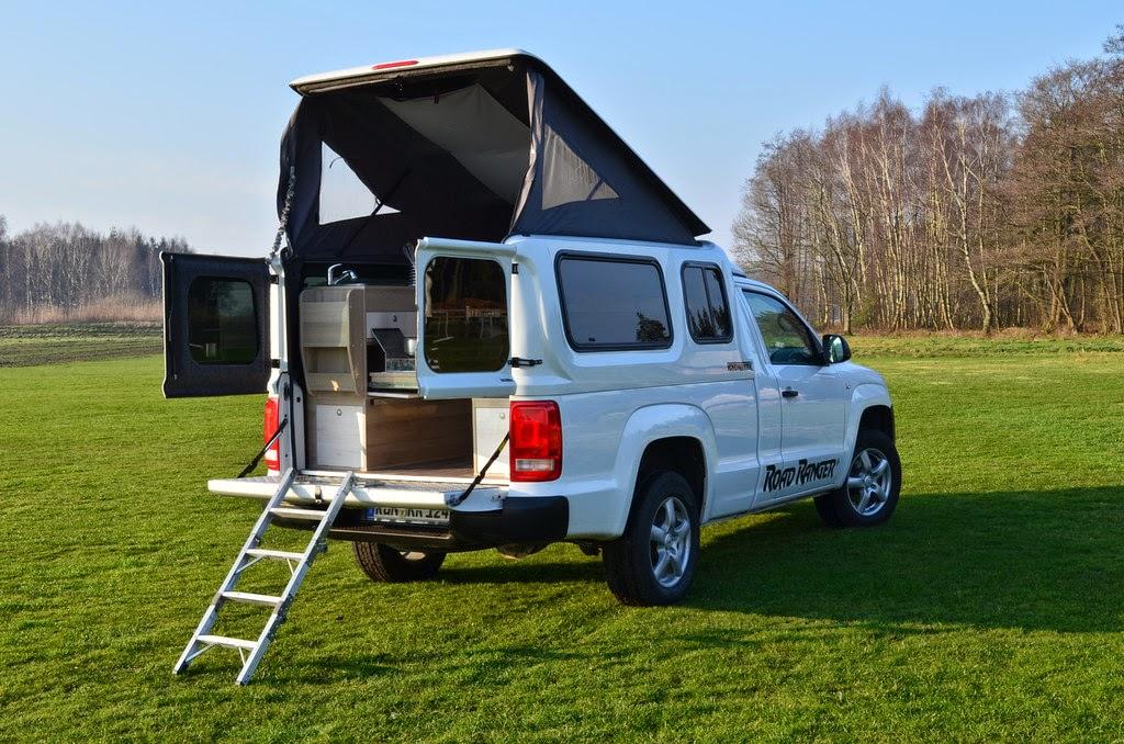 Campingbus Volkswagen Amarok Traveler Der Neue Pick Up