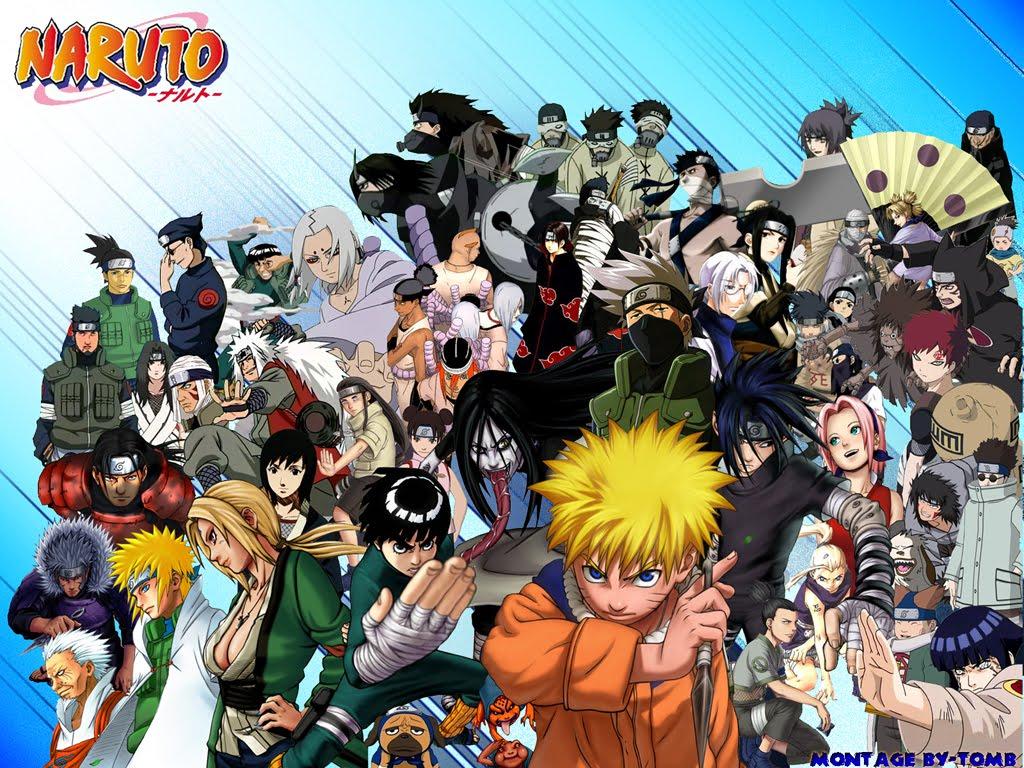 NARUTO And Friends Naruto Wallpaper