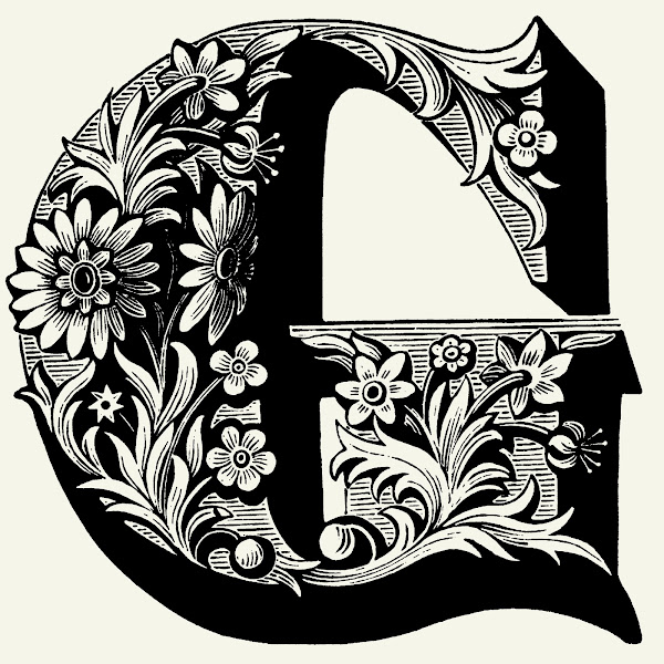 Cool Font Letter G