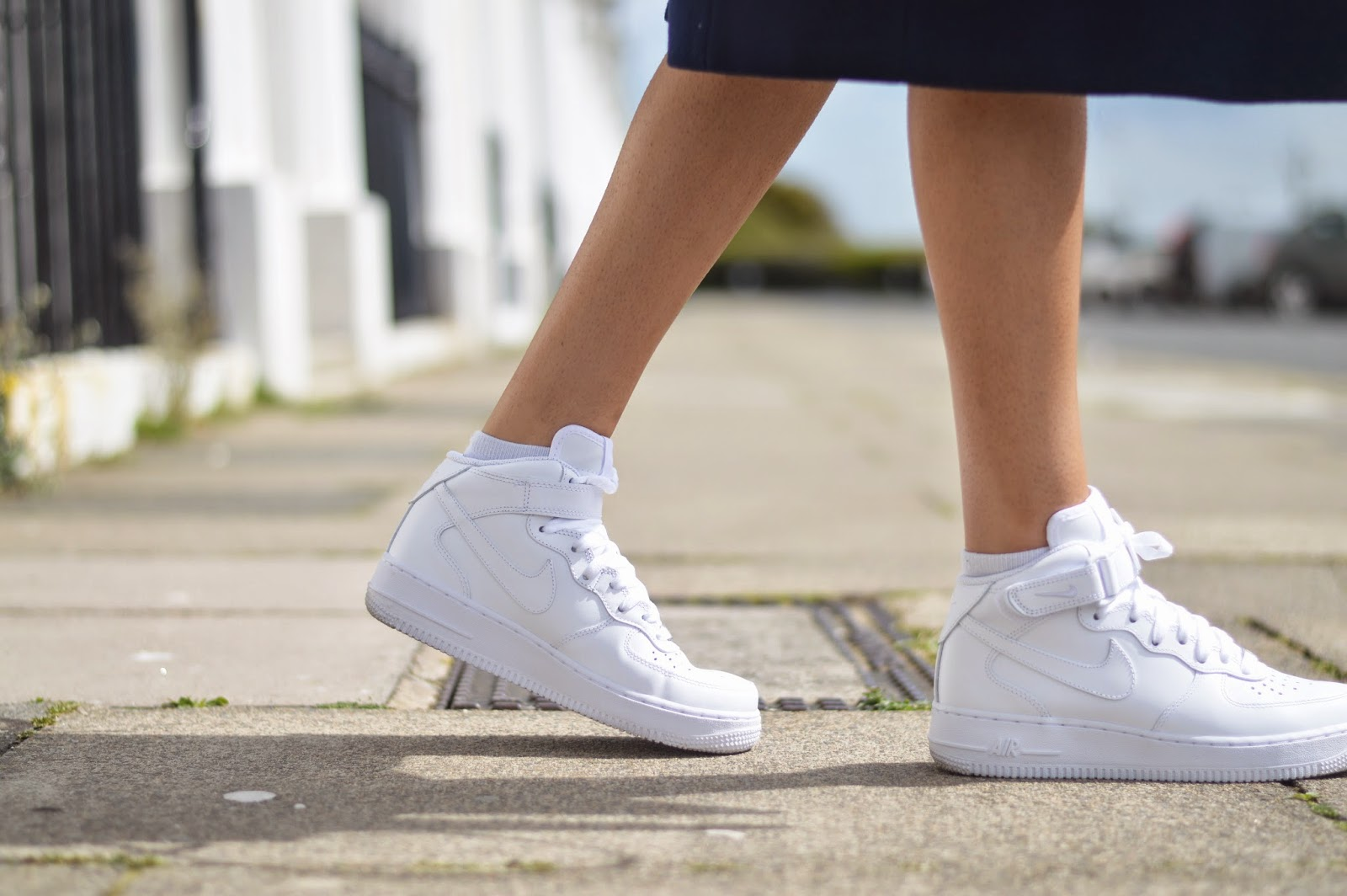 outfit nike air force 1 mid trainers my bubba amp me