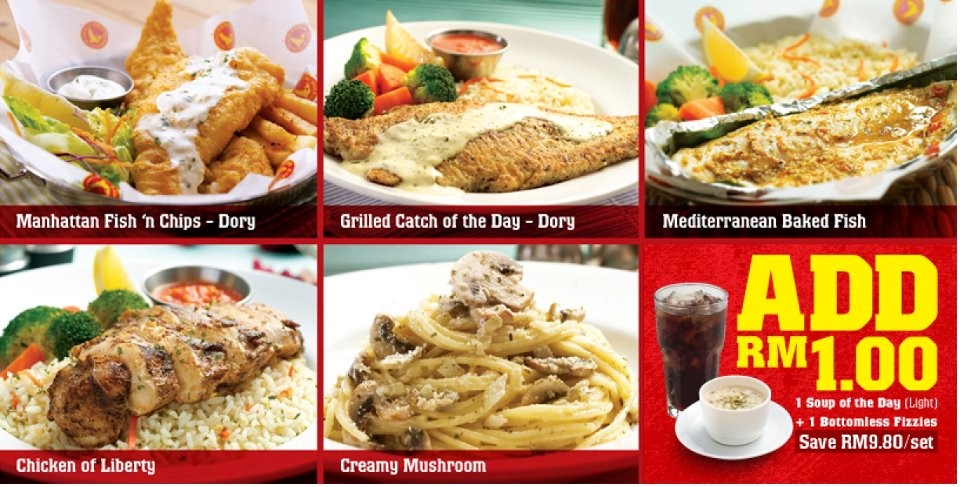 Food street april 2012 for Manhattan fish and chicken menu