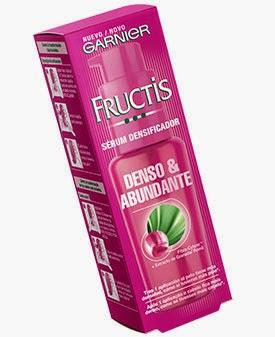 Fructis Melena Abundante Serúm densificador Garnier