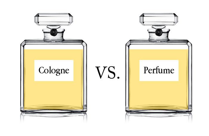 cologne vs perfume