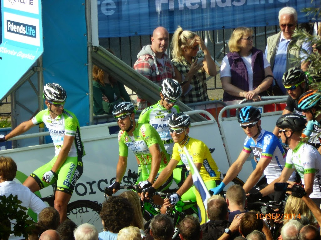 Stage 4 Tour of Britain 2014