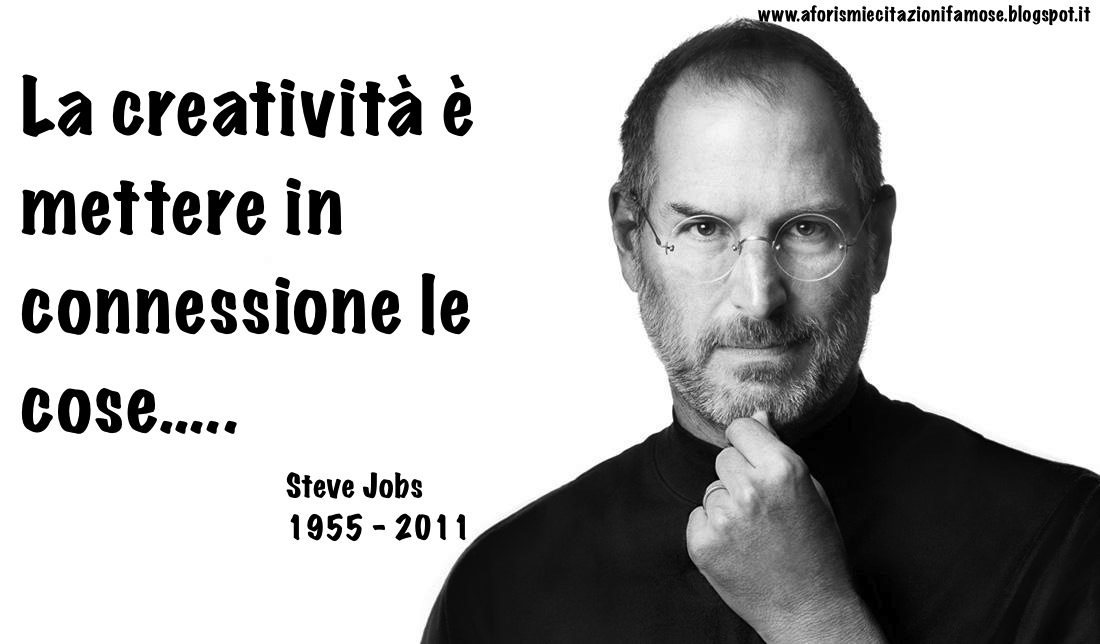 Aforismi e citazioni famose: Frase Celebre Steve Jobs