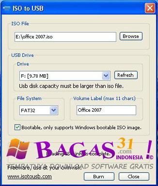 ISO To USB   Freeware 2