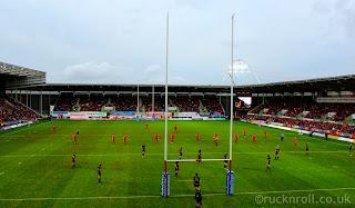 Scarlets, Ospreys, Pro 12, derby, Wales, Welsh, rugby, Parc Y Scarlets