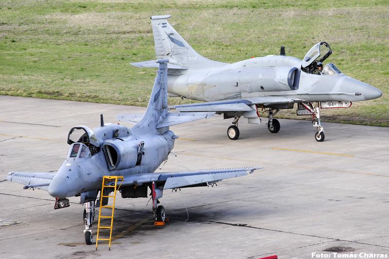 A-4 AR en la V Brigada Aerea -spotting- TC_10839editadaforo