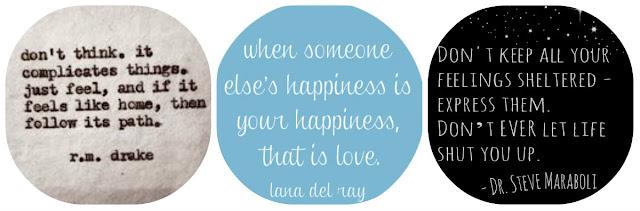 thinking, complicates, relationships, happiness, love, express, feeling, life, quotes, inspirational, r.m.drake, lana del ray, steve maraboli