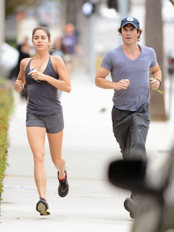 Ian Somerhalder and Niki Reed