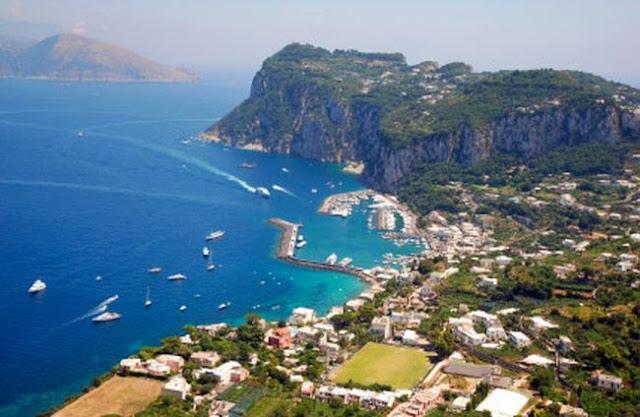 острова капри италия