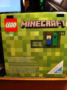 Minecraft Lego Arrives!