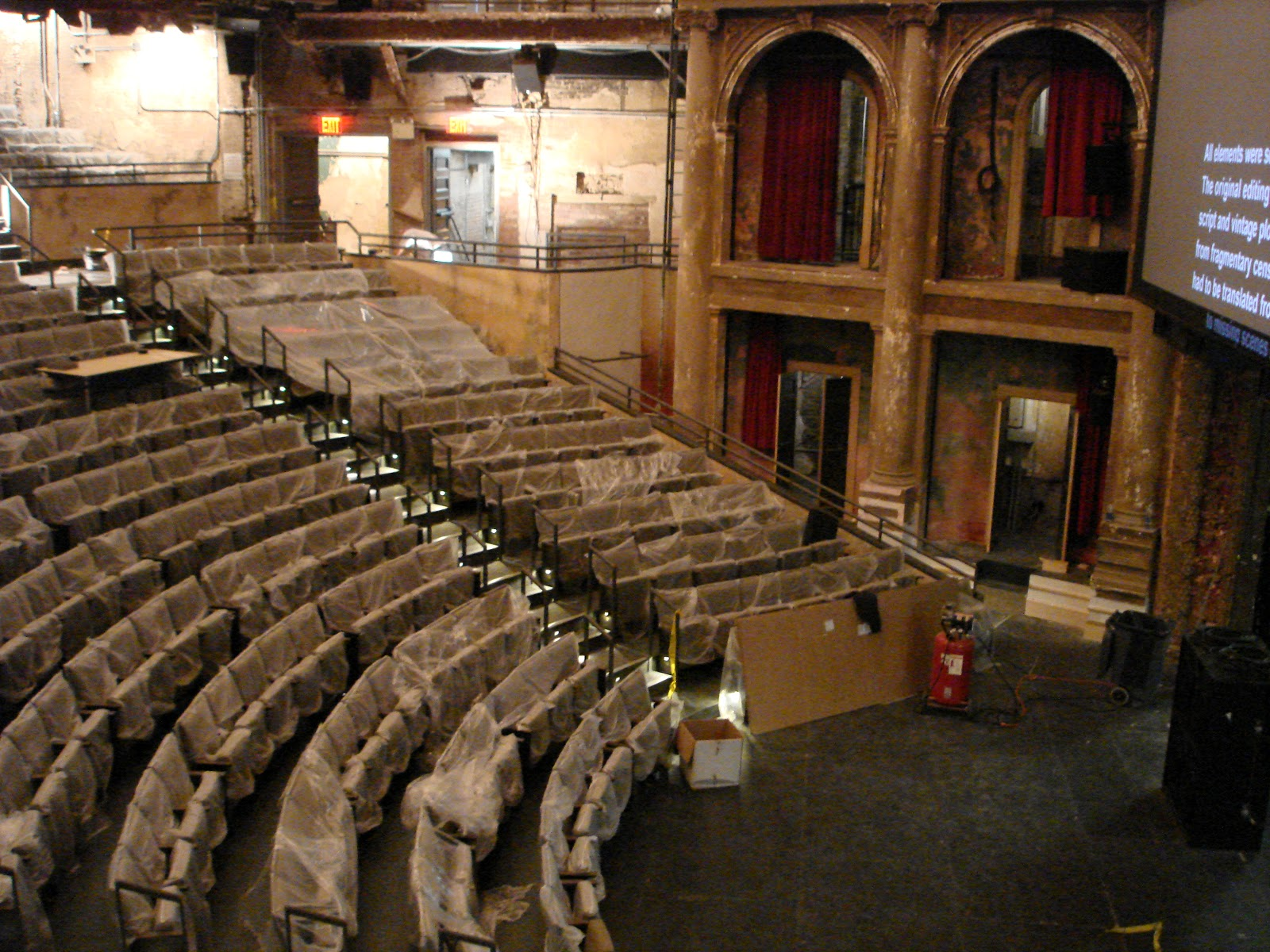 harvey theatre seating chart: Bam blog harvey house of pain no more