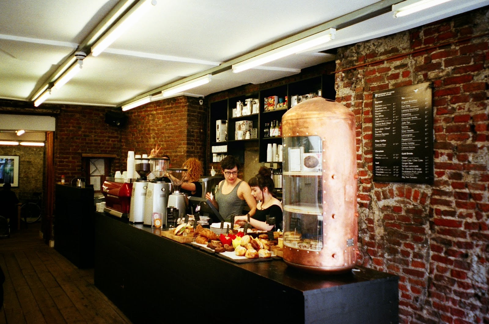 Department of Coffee and Social Affairs London Cafes