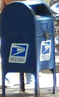 Picture of Post Office Collection Box