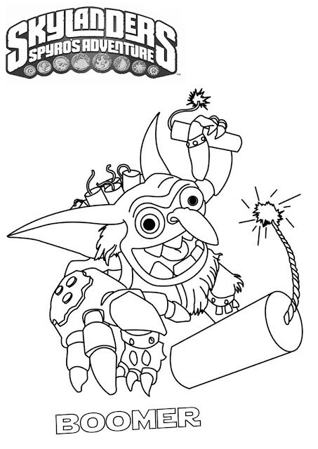 Similiar Wrecking Ball Skylanders Coloring Pages Keywords
