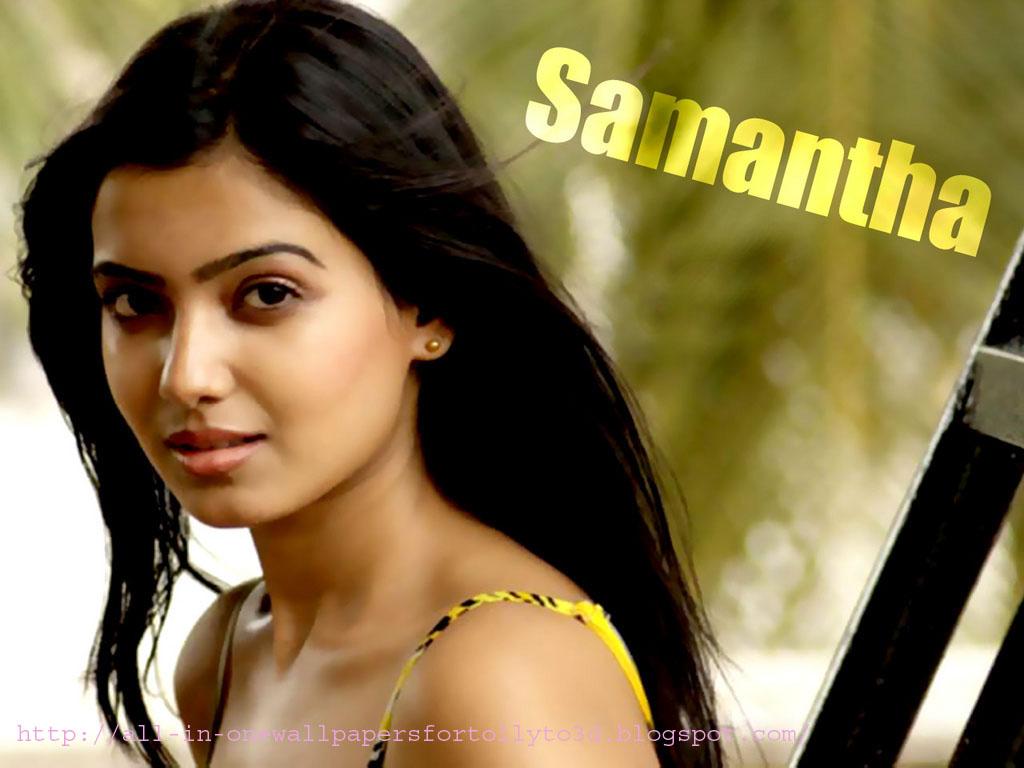 all-in-one wallpapers: cute telugu actress samantha ruth prabhu hd