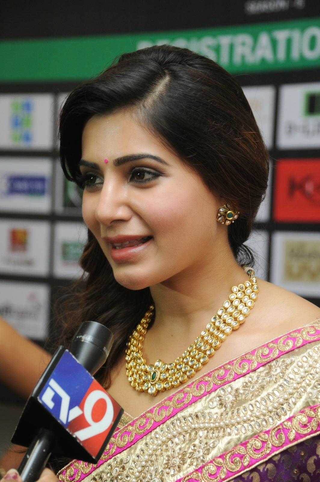 Samantha gorgeous photos in saree-HQ-Photo-2
