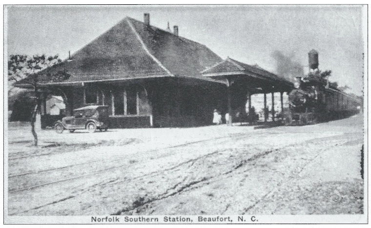 Early Photo of Depot