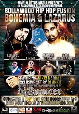 BOHEMIA,Lazarus &Bali,Dallas Get Ready!
