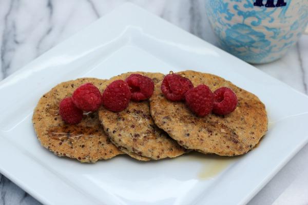 Quinoa Coconut Pancakes