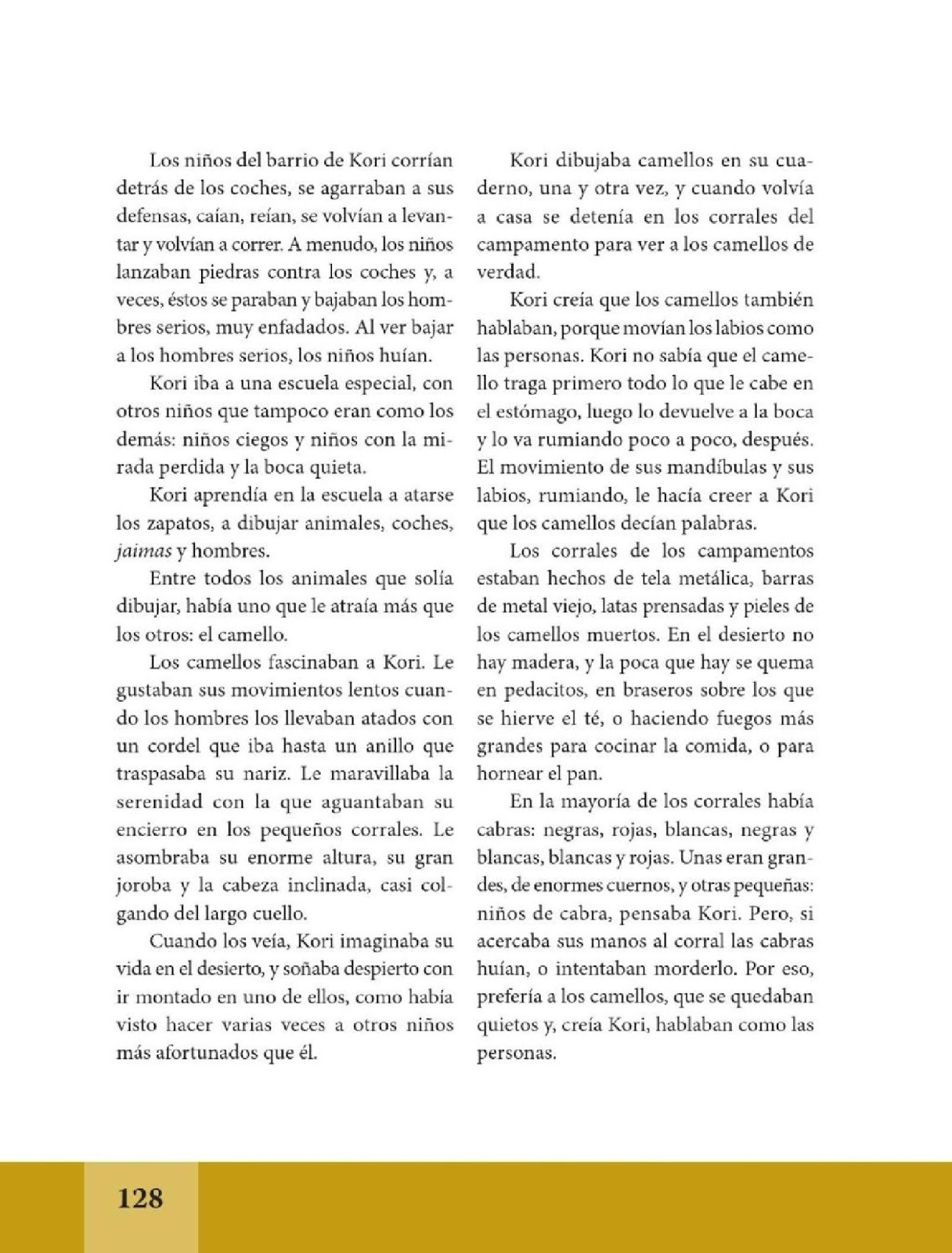 Palabras de caramelo espa ol lecturas sexto grado for Espanol lecturas cuarto grado 1993
